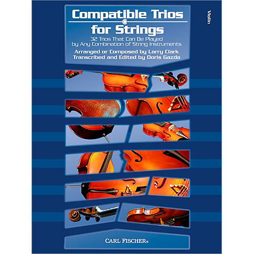 Carl Fischer Compatible Trios for Strings - Violin (Book)-thumbnail
