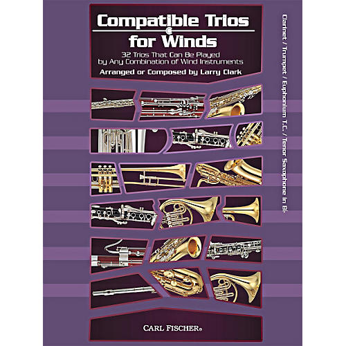 Carl Fischer Compatible Trios for Winds (Clarinet/Trumpet/Euphonium/Tenor Saxophone in Bb)-thumbnail