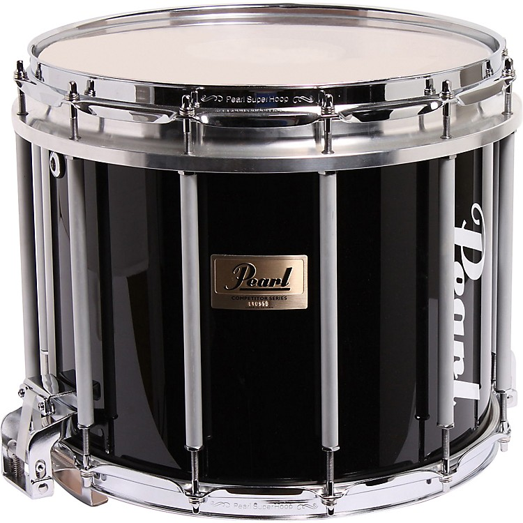 PearlCompetitor High-Tension Marching Snare DrumWhite14X12 Inch High Tension
