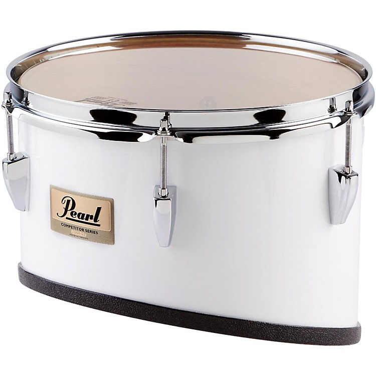 Pearl Competitor Series Individual  Marching Toms 12 Inch White