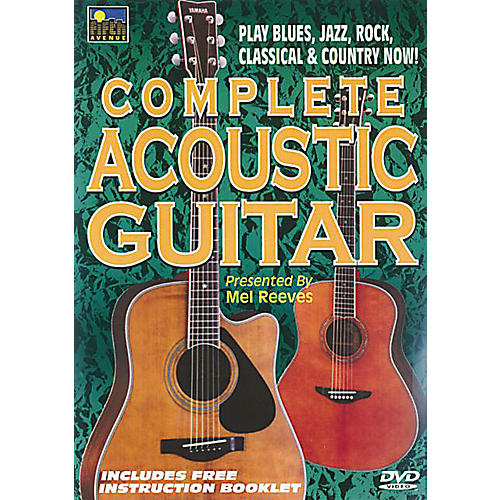 Music Sales Complete Acoustic Guitar Music Sales America Series DVD Written by Mel Reeves