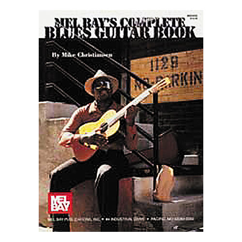 Mel Bay Complete Blues Guitar Book and CD