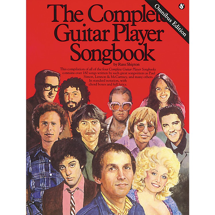 Music SalesComplete Guitar Player Tab Songbook Omnibus Edition