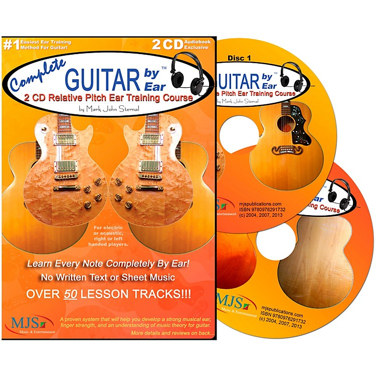MJS Music Publications Complete Guitar by Ear (2 CDs)