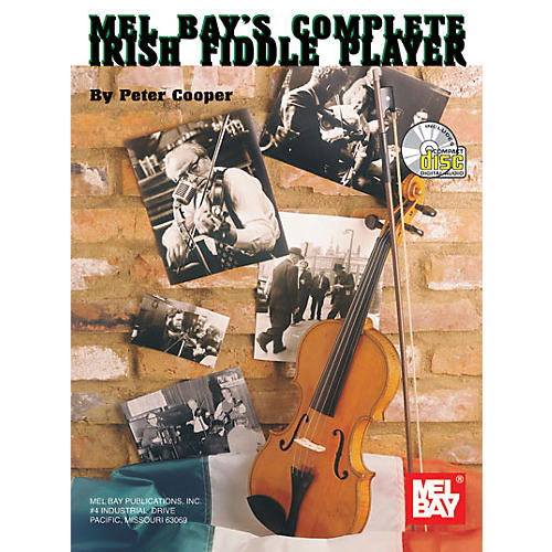 Mel Bay Complete Irish Fiddle Player Book and CD