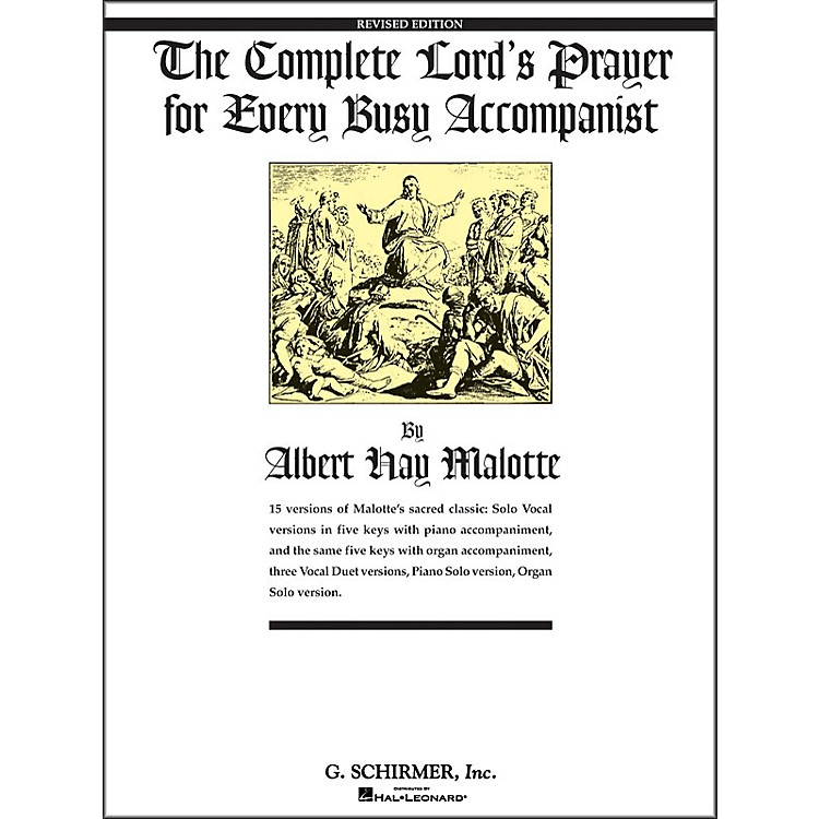 G. SchirmerComplete Lord's Prayer for Every Busy Accompanist