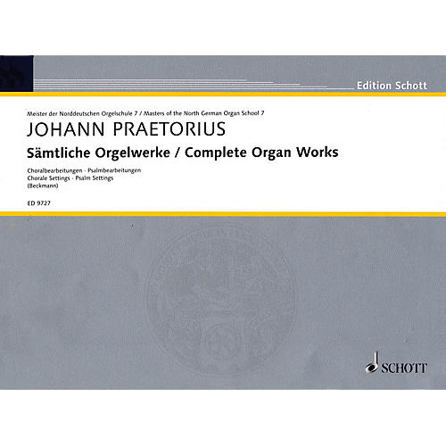 Schott Complete Organ Works (Masters of the North German Organ School Series) Schott Series-thumbnail