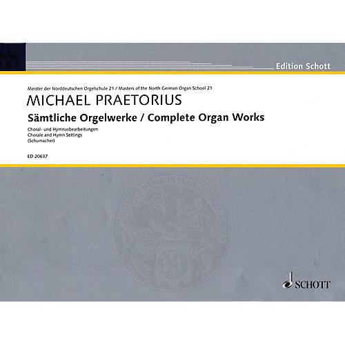Schott Complete Organ Works Organ Collection Series Softcover-thumbnail