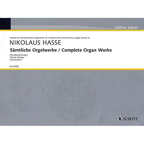 Schott Complete Organ Works Organ Collection Series-thumbnail
