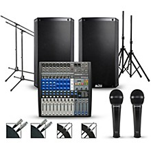 """PreSonus Complete PA Package with PreSonus AR12 14-channel Mixer with Alto Truesonic 2 Series Active Speakers 12"""" Mains"""