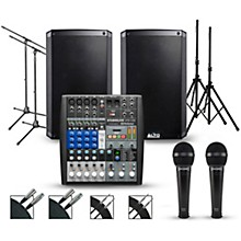 PreSonus Complete PA Package with PreSonus AR8 Mixer and Alto Truesonic 2 Series Speakers