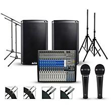 PreSonus Complete PA Package with PreSonus StudioLive AR16 USB Mixer and Alto Truesonic 2 Series Powered Speakers