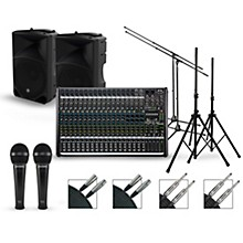 Mackie Complete PA Package with ProFX22v2 Mixer and Mackie Thump Speakers