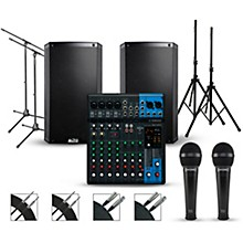Yamaha Complete PA Package with Yamaha MG10XU Mixer and Alto Truesonic 2 Series Speakers