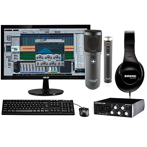 apple complete recording studio with mac mini v4 md387ll a musician 39 s friend. Black Bedroom Furniture Sets. Home Design Ideas