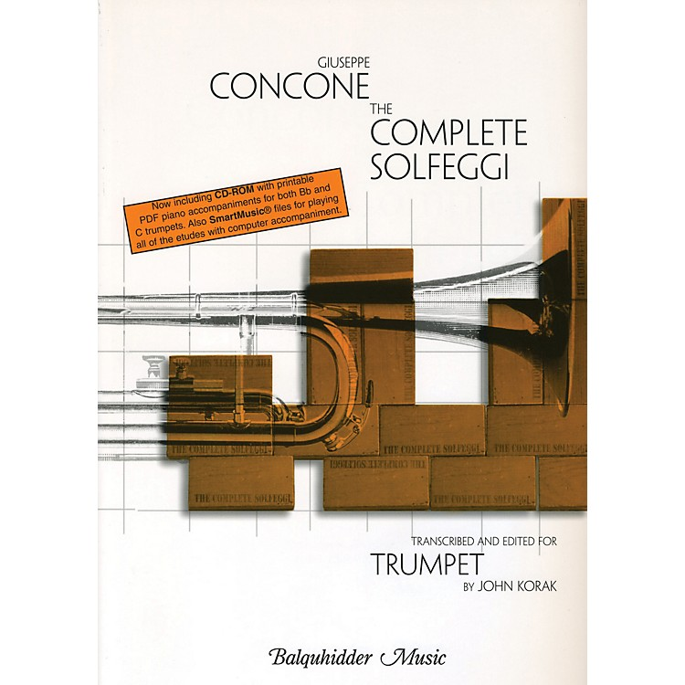 Carl Fischer Complete Solfeggi for Trumpet  Book