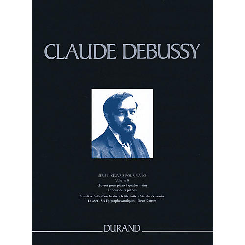Editions Durand Complete Works - Series 1, Volume 9 CRITICAL EDITIONS Series Softcover Composed by Claude Debussy-thumbnail