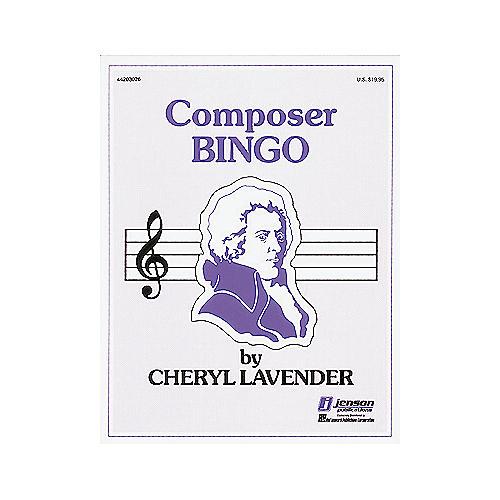 Hal Leonard Composer Bingo Game