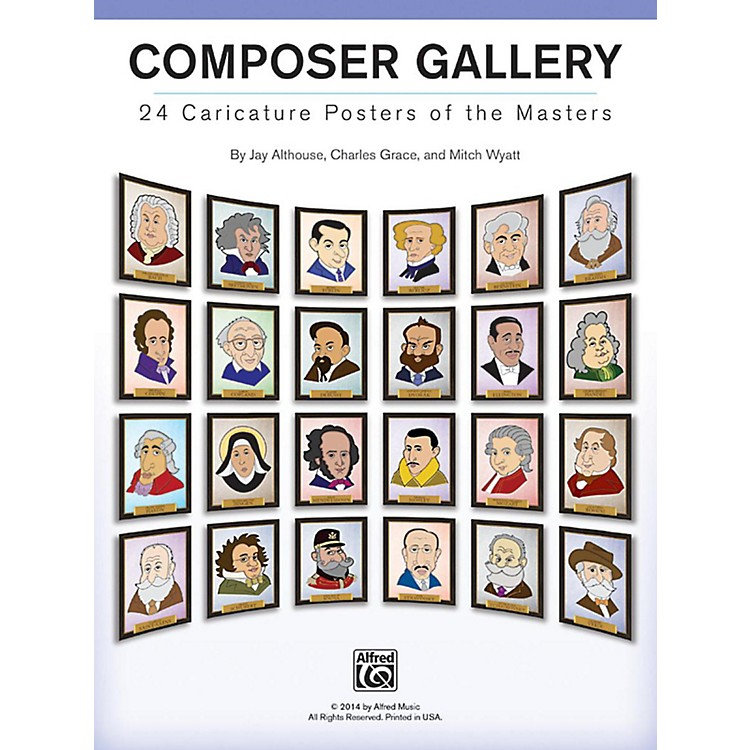 AlfredComposer Gallery: 24 Caricature Posters of the Masters