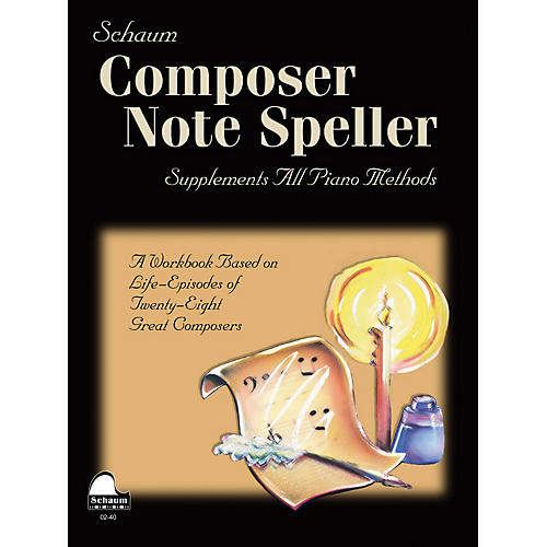 SCHAUM Composer Note Speller Educational Piano Series Softcover-thumbnail