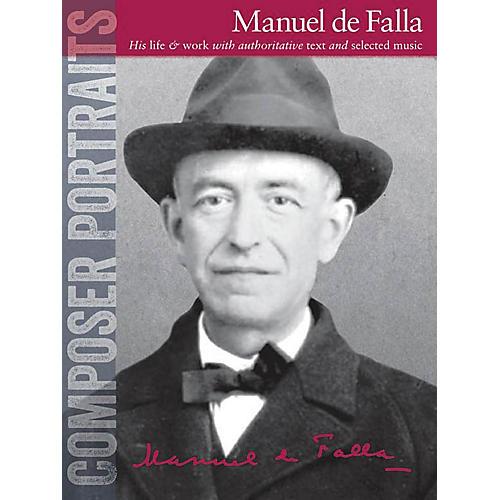 Wise Publications Composer Portraits: Manuel de Falla Music Sales America Series Softcover