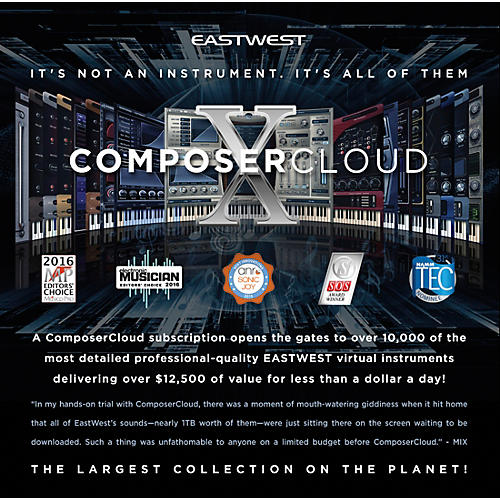 EastWest ComposerCloud Monthly Subscription-thumbnail