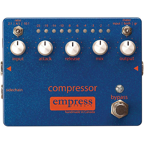 empress effects compressor analog compression guitar effects pedal musician 39 s friend. Black Bedroom Furniture Sets. Home Design Ideas