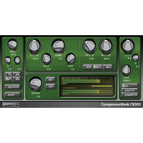 McDSP CompressorBank HD v6 (Software Download)