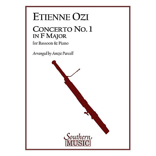 Southern Conc No 1 in F Maj (Bassoon) Southern Music Series Arranged by Amzie D. Parcell-thumbnail