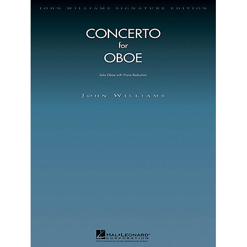 Hal Leonard Conc for Oboe (Oboe with Piano Reduction) John Williams Signature Edition - Woodwinds Series-thumbnail