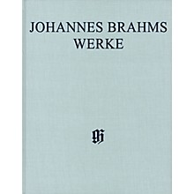G. Henle Verlag Conc for Vn and Violoncello, Pa Reduction Op 77, 102 Henle Complete Hardcover by Brahms Edited by Roesner