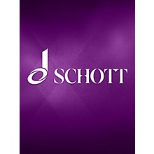 Schott Concento di voci (2. Laudes creaturarum) SATB Composed by Carl Orff