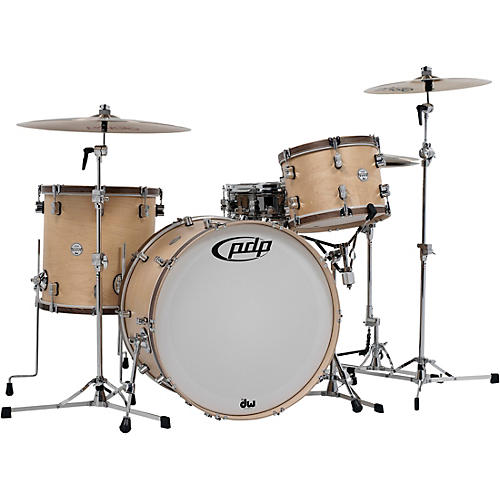 PDP by DW Concept Classic 3-Piece Wood Hoop Shell Pack with 24 in. Kick-thumbnail