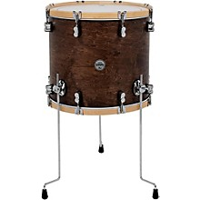 PDP by DW Concept Maple Classic Floor Tom with Natural Hoops 14 x 14 in. Tobacco