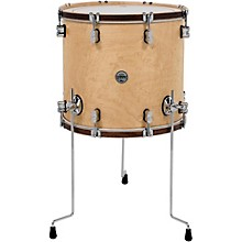 PDP by DW Concept Maple Classic Floor Tom with Tobacco Hoops 14 x 14 in. Natural