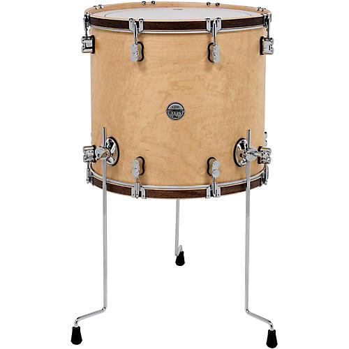 PDP by DW Concept Maple Classic Floor Tom with Tobacco Hoops-thumbnail