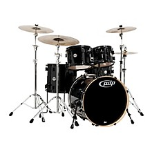 PDP by DW Concept Maple by DW 5-Piece Shell Pack Pearlescent Black