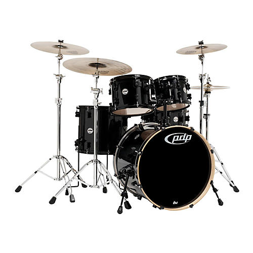 PDP Concept Maple by DW 5-Piece Shell Pack Pearlescent Black