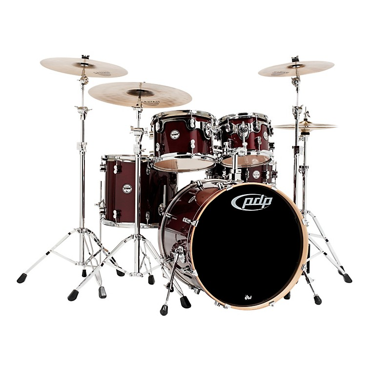 PDP Concept Maple by DW 5-Piece Shell Pack Transparent Cherry