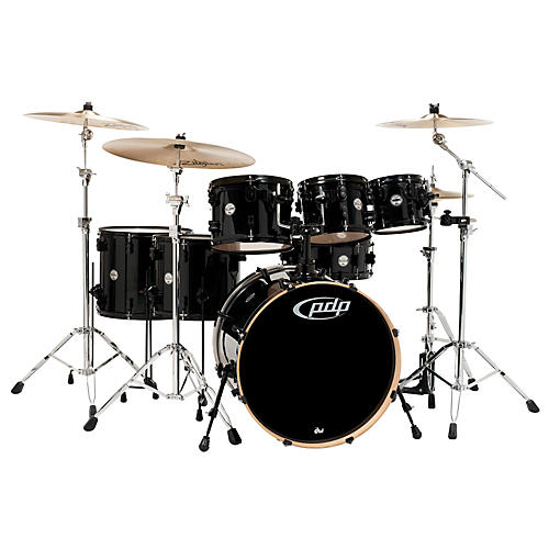 PDP Concept Maple by DW 7-Piece Shell Pack Pearlescent Black