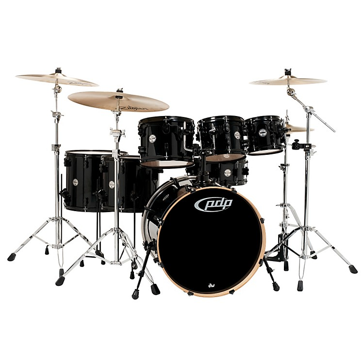 PDP Concept Maple by DW 7-Piece Shell Pack Transparent Walnut