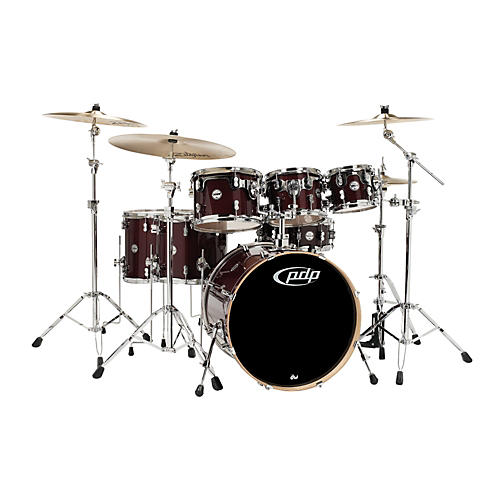 PDP Concept Maple by DW 7-Piece Shell Pack Transparent Cherry
