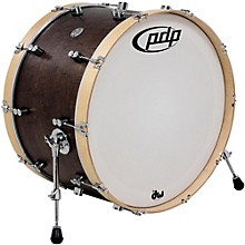 PDP by DW Concept Series Classic Wood Hoop Bass Drum 24 x 14 in. Walnut/Natural