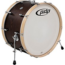 PDP by DW Concept Series Classic Wood Hoop Bass Drum 26 x 14 in. Walnut/Natural