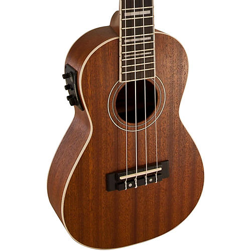 lanikai concert all mahogany acoustic electric ukulele with usb musician 39 s friend. Black Bedroom Furniture Sets. Home Design Ideas