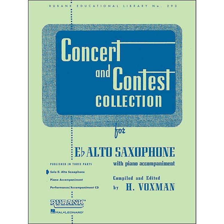 Hal LeonardConcert And Contest Collection E Flat Alto Saxophone Solo Part Only