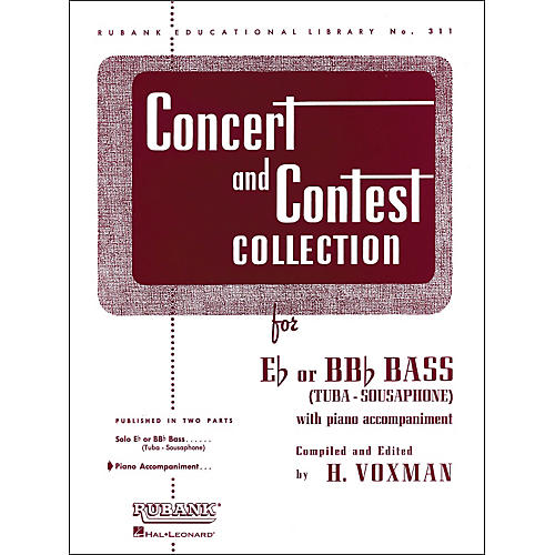Hal Leonard Concert And Contest Collection For E Flat Or