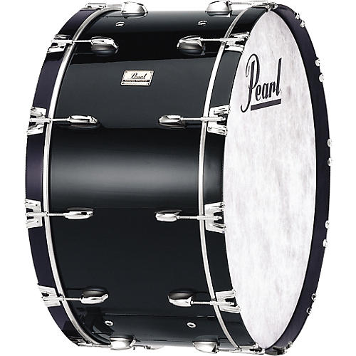 Pearl Concert Bass Drum Midnight Black 14x28