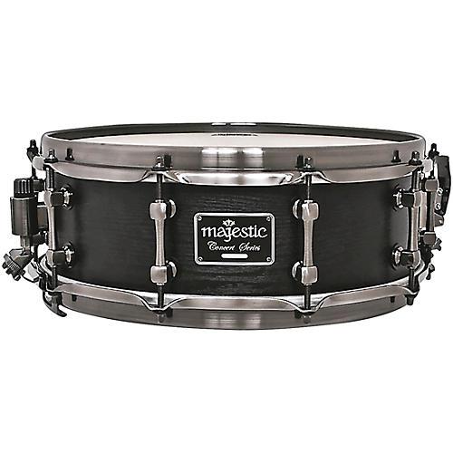 Majestic Concert Black Snare Drum Maple 14x5