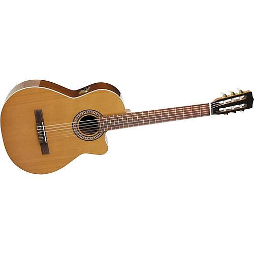 La Patrie Concert CW Cutaway Acoustic-Electric Classical Guitar-thumbnail